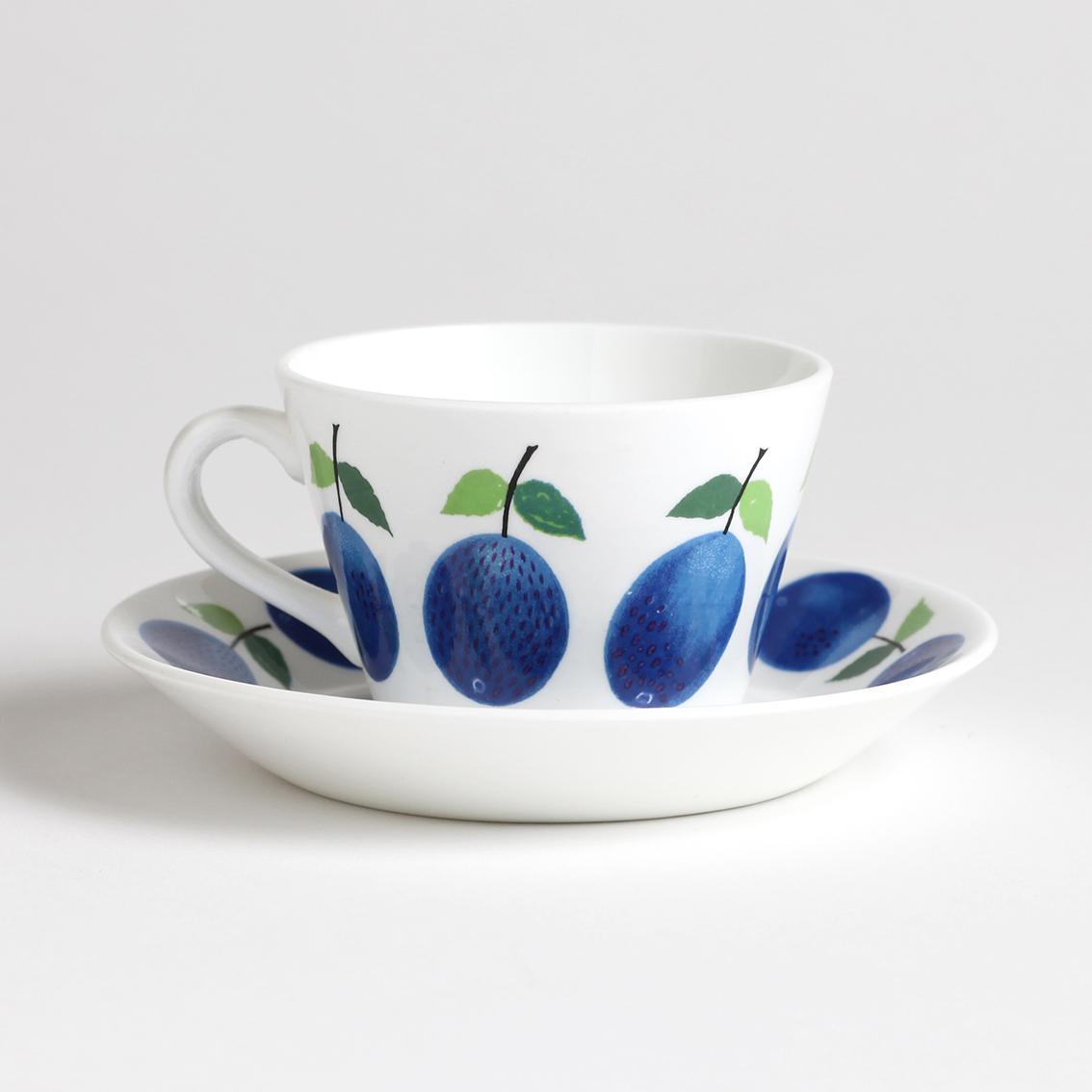 Gustavsberg グスタフスベリ Prunus プルーヌス コーヒーカップ&ソーサー -4 北欧ヴィンテージ