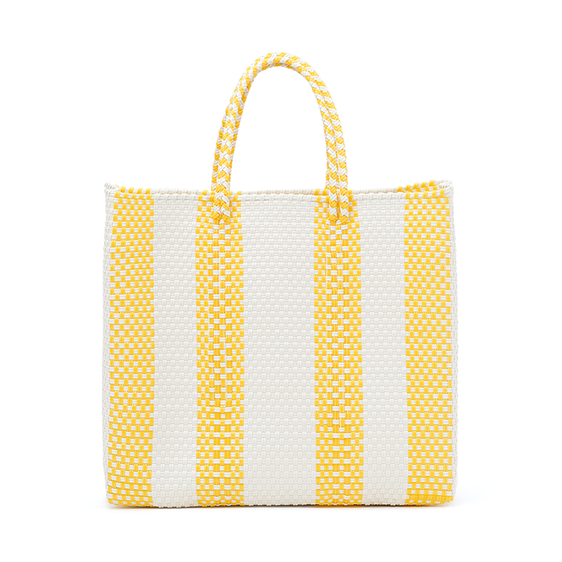 MERCADO BAG 4LINES-Yellow (M)