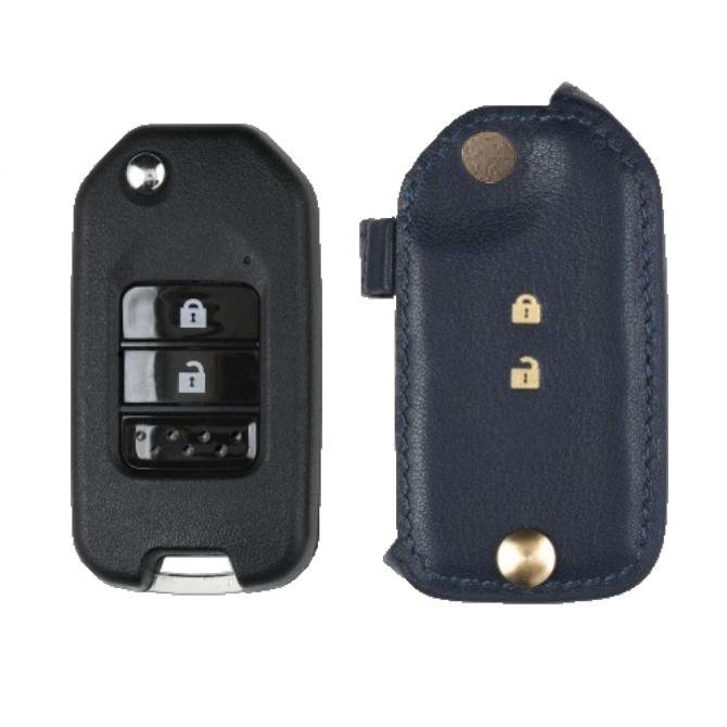 Honda 専用 TypeC-2 Car Key Case Shrink Leather Case