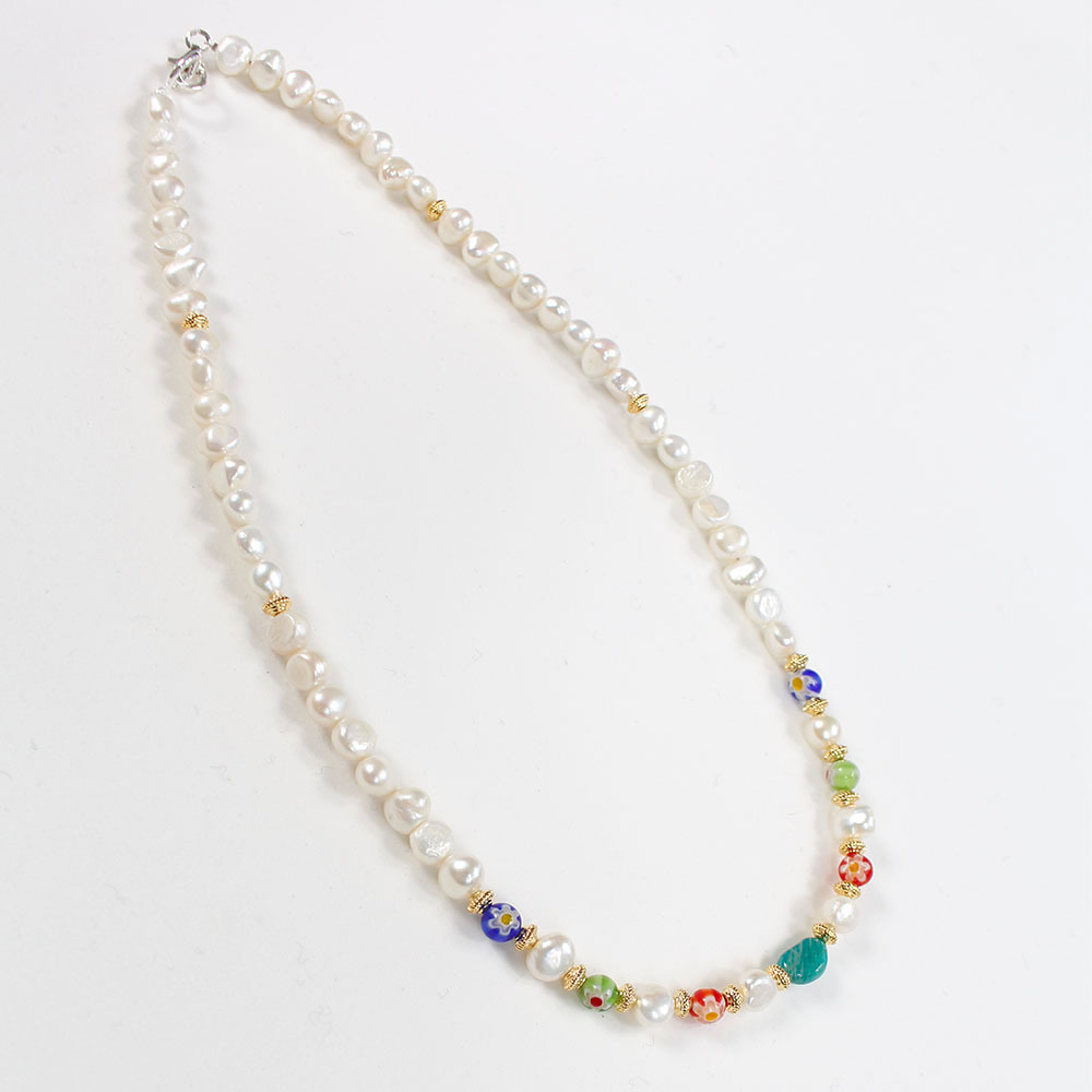 SPARKING Pearl Necklace - idea by Sosu Exclusive -