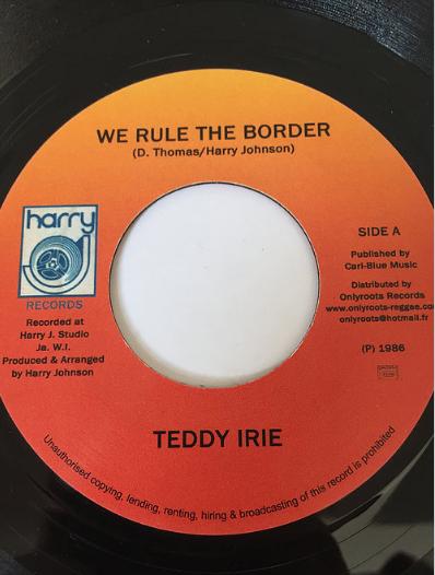 Teddy Irie (テディーアイリー) - We Rule The Border【7'】
