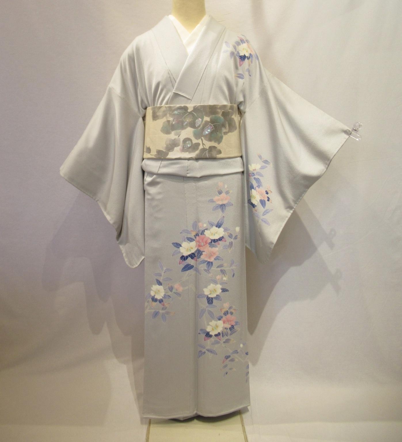 1941加賀友禅訪問着と螺鈿袋帯セット