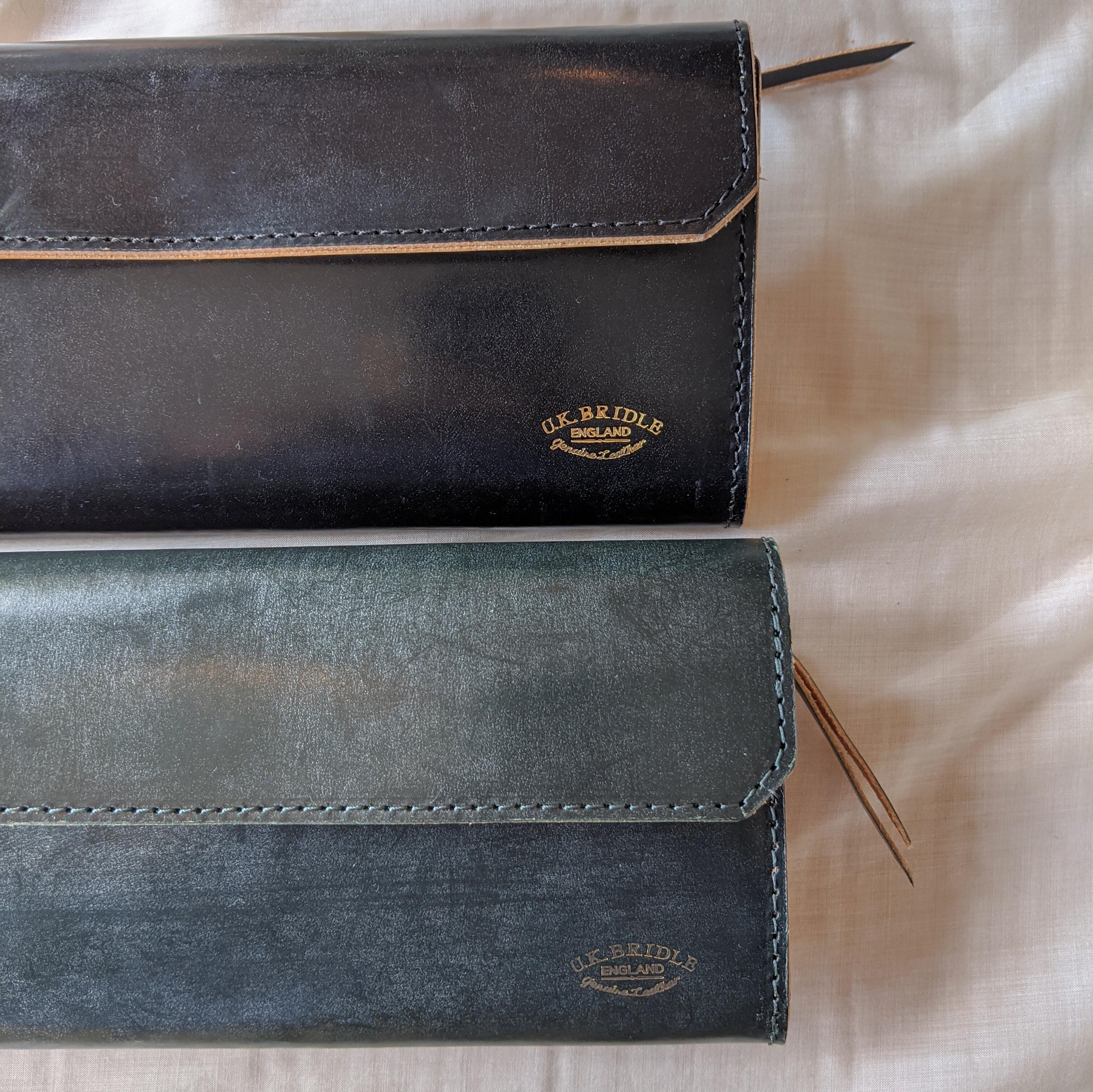 【 saranam 】サラナンU.K.BRIDLE ブライドルロングウォレット /wallet 長財布