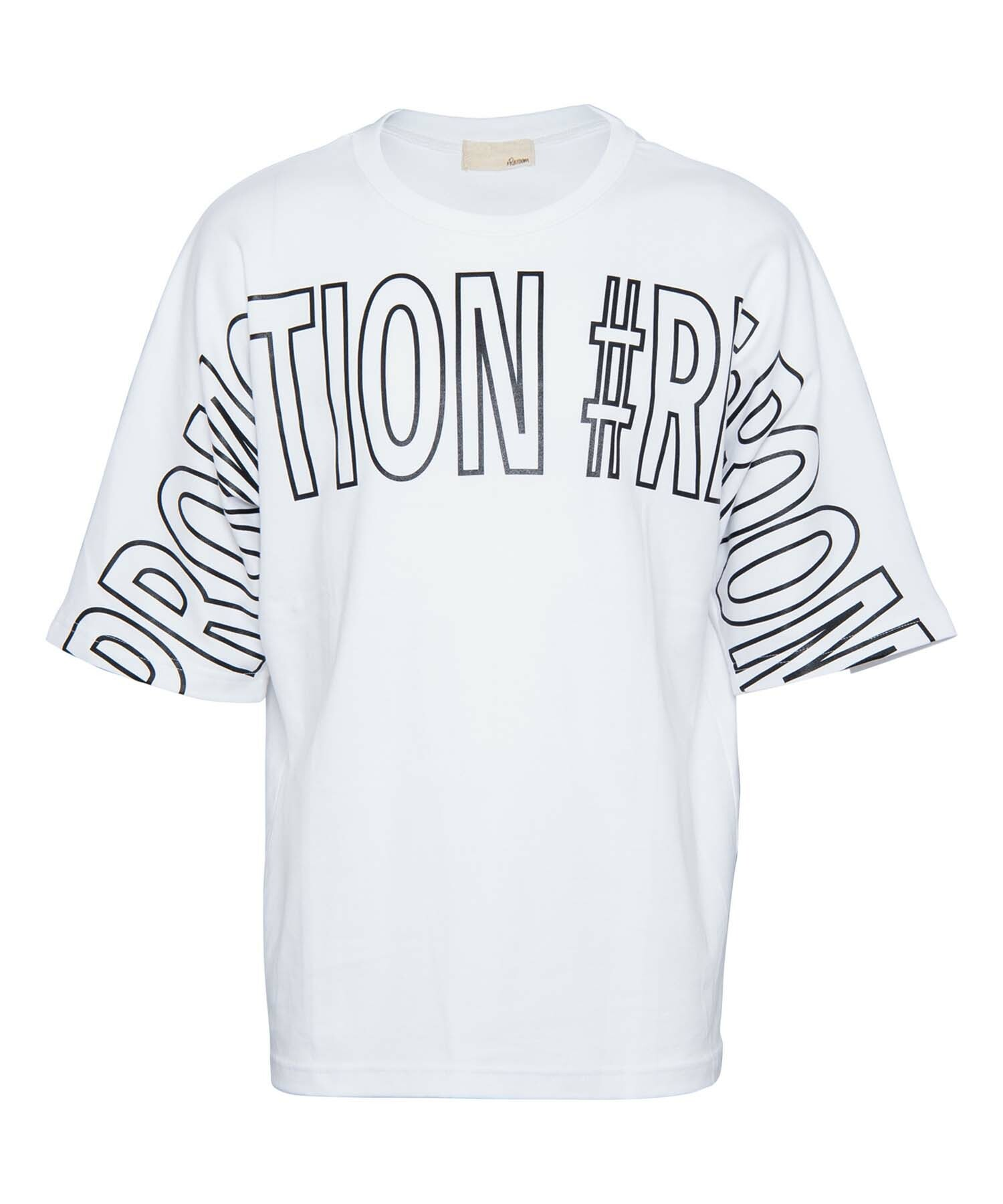 BIG LOGO PRINT NEON LINE BIG T-shirt[REC317]