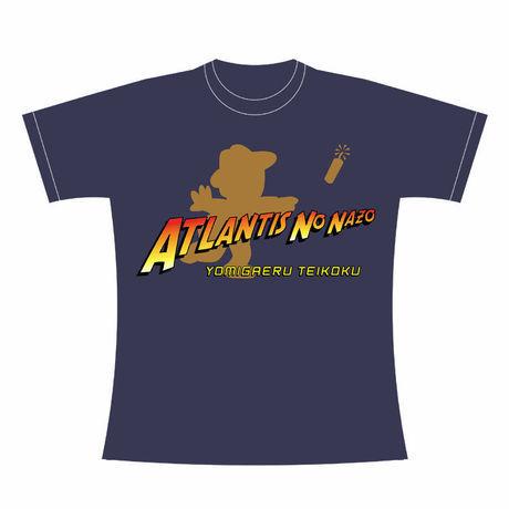 アトランチスの謎 「Adventurer Wynn」Tシャツ / GAMES GLORIOUS