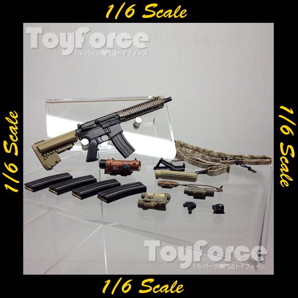 【02699】 1/6 Soldier Story Marine Raiders Mk.18 Mod 1 ライフル