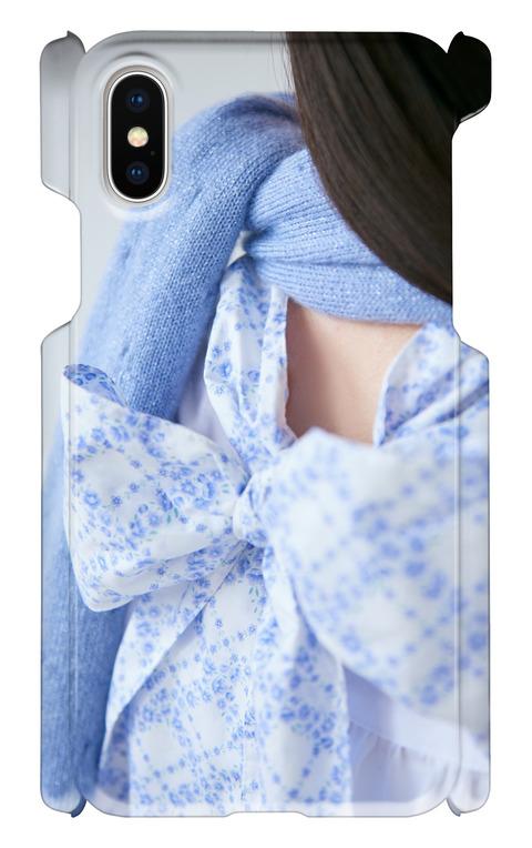 《受注生産》iphoneXケース:back ribbon