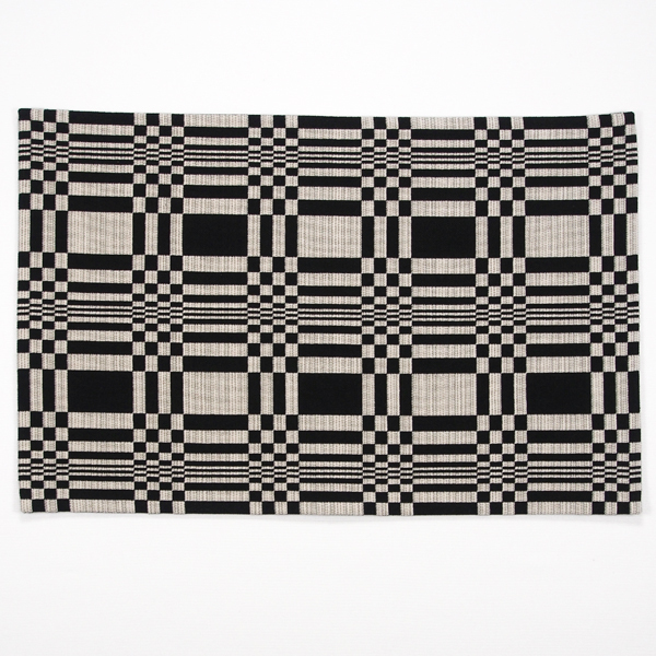 JOHANNA GULLICHSEN Puzzle Mat 5 Doris Black