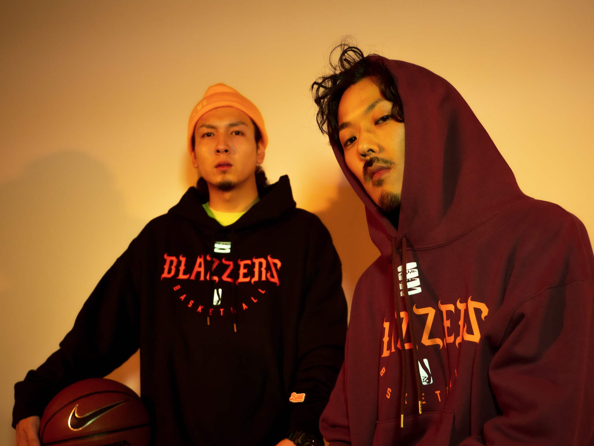 BLAZZERS HEAVY HOODIE -MADE IN JAPAN- [PURPLE]