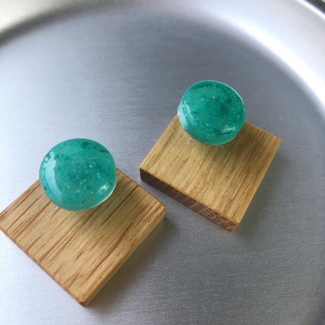 mokune × N7enunana ピアス Turquoise