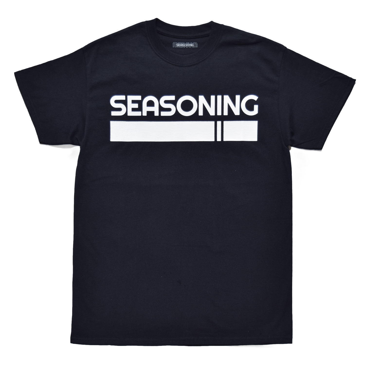 SEASONING LOGO TEE  - BLACK