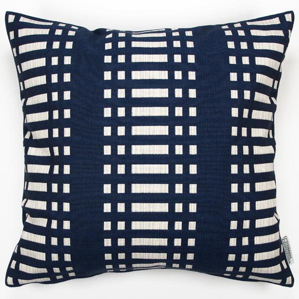 JOHANNA GULLICHSEN Zipped Cushion Cover Nereus Dark Blue