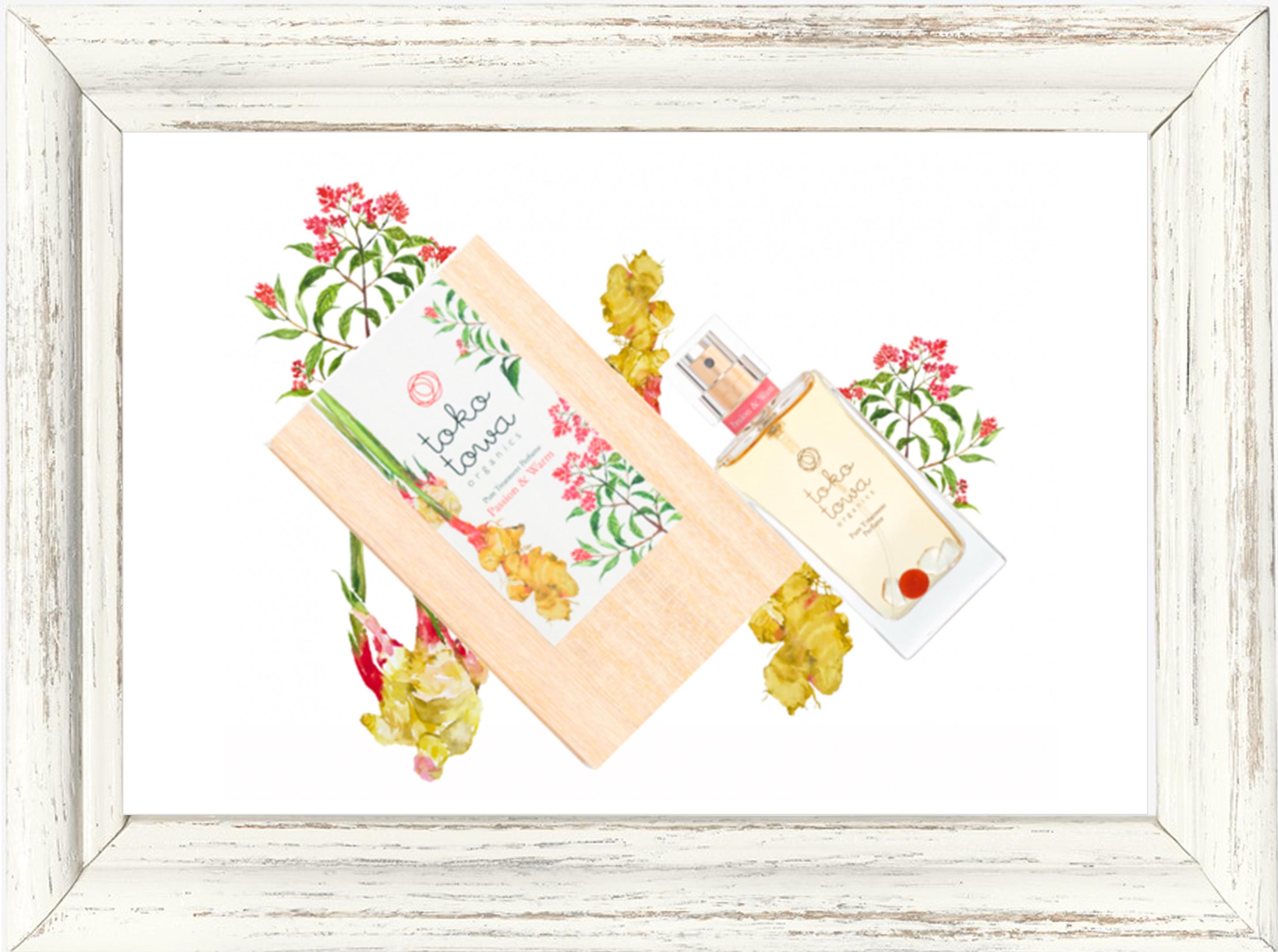 パフューム▶︎tokotowa organics パッション&ウォーム(レッド) 香水 25ml