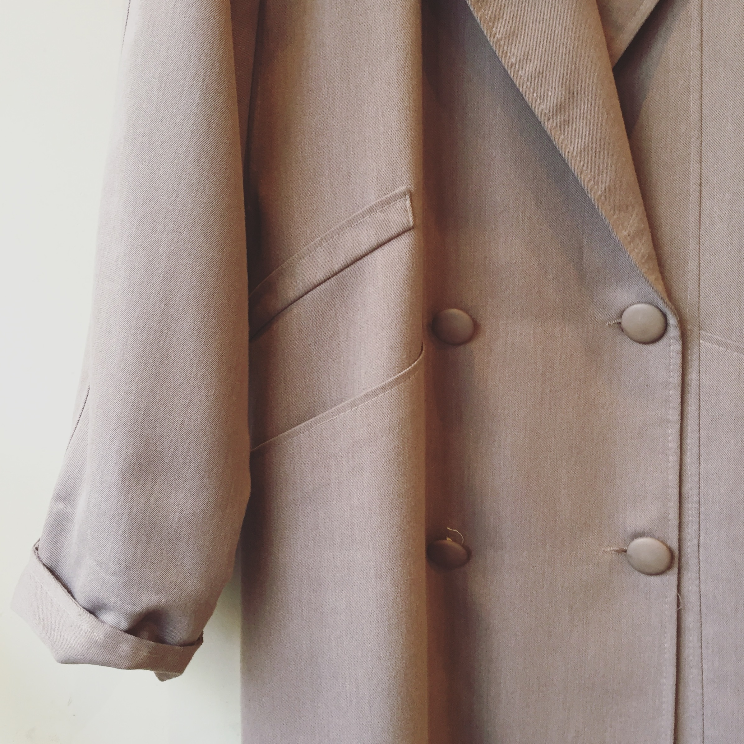 vintage wide size coat