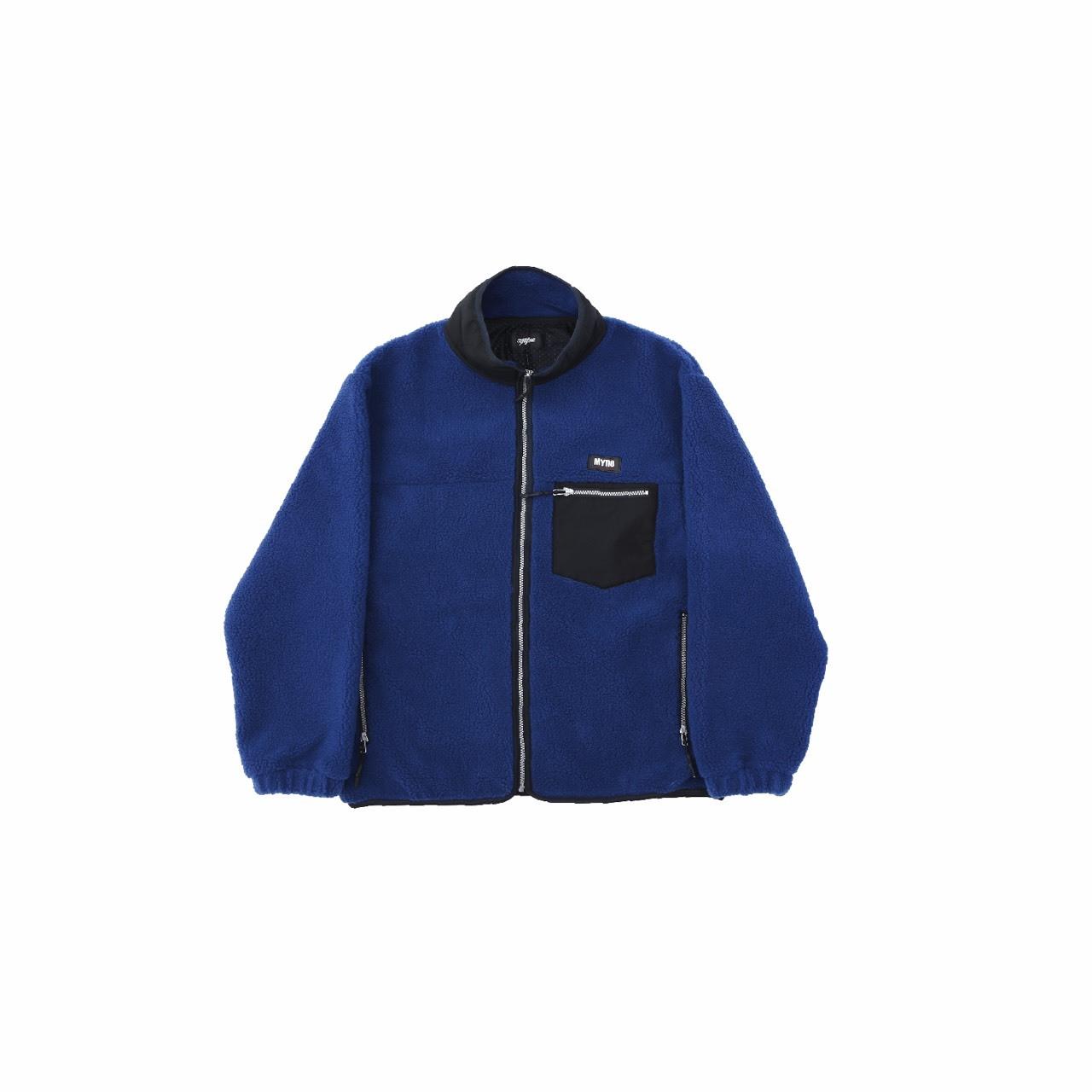 【10%OFF】Boa fleece blouson / BLUE - 画像1
