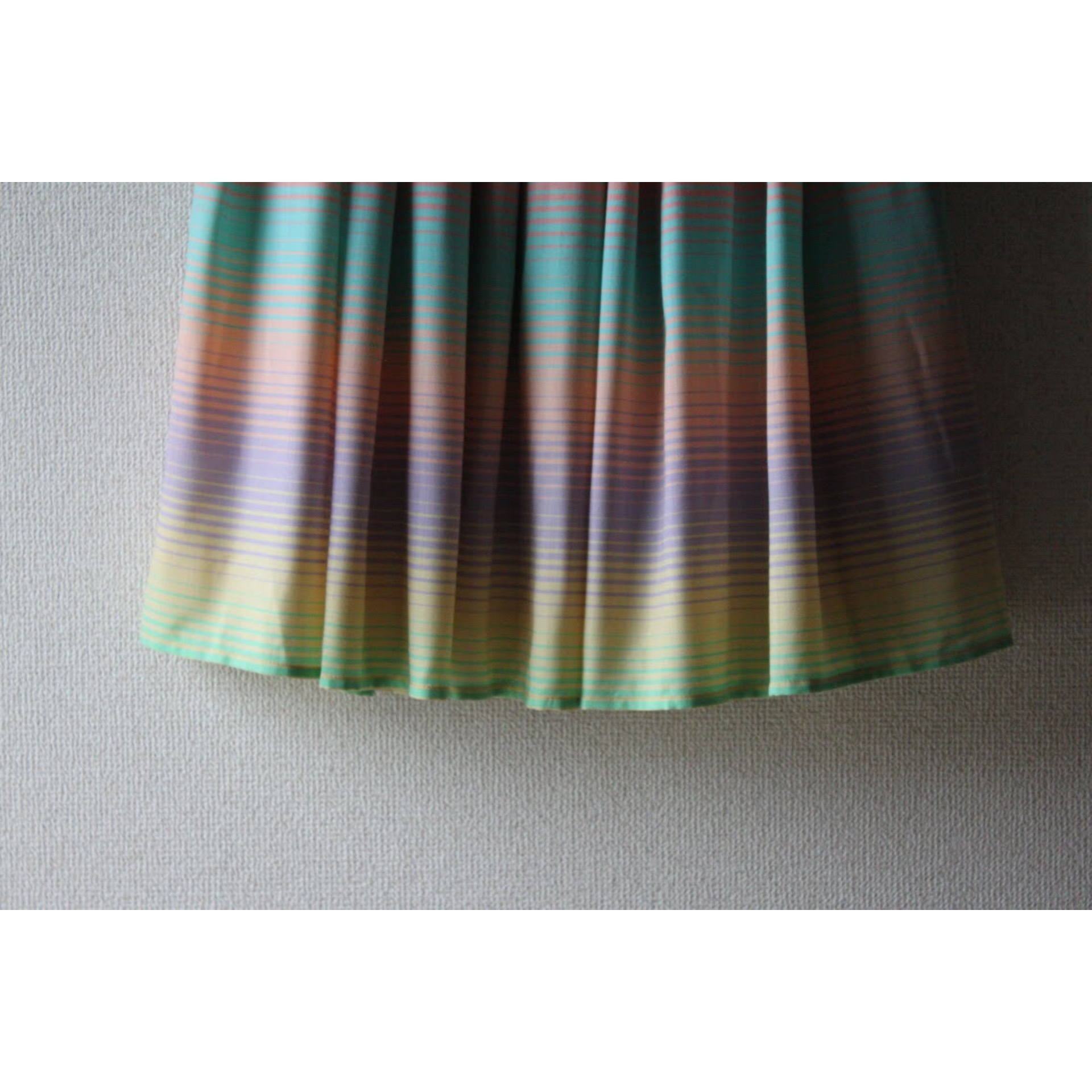 Vintage rainbow color skirt