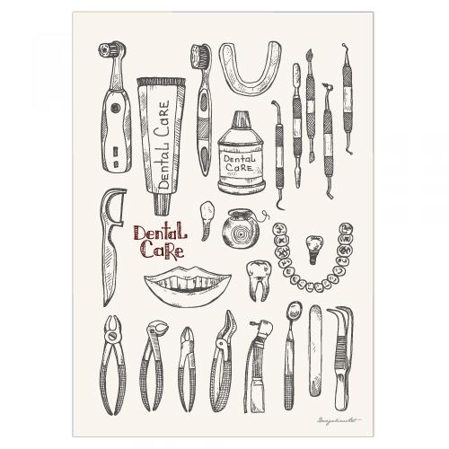 Dental Care B3ポスター