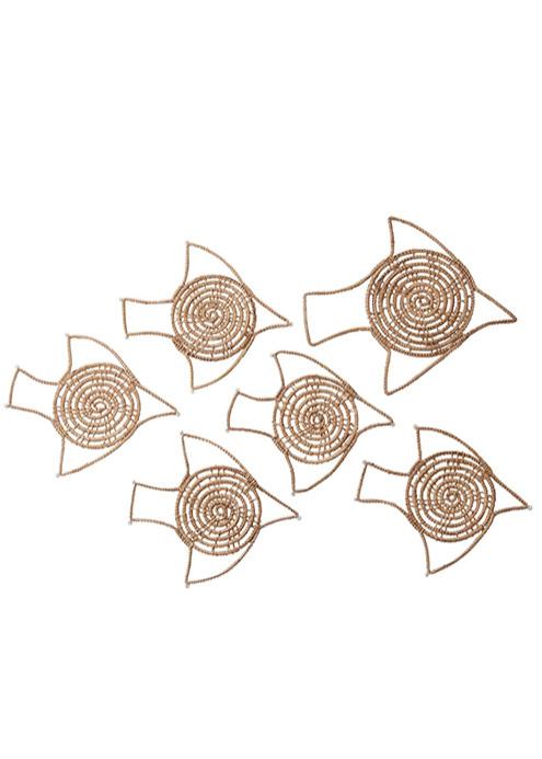 【ピープルツリー】コースター&鍋敷きのセット