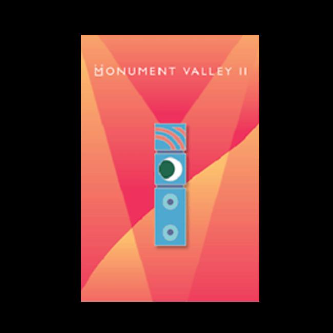 【Monument Valley 2(モニュメント・バレー 2)】ドーテム ピンバッジ - 画像1