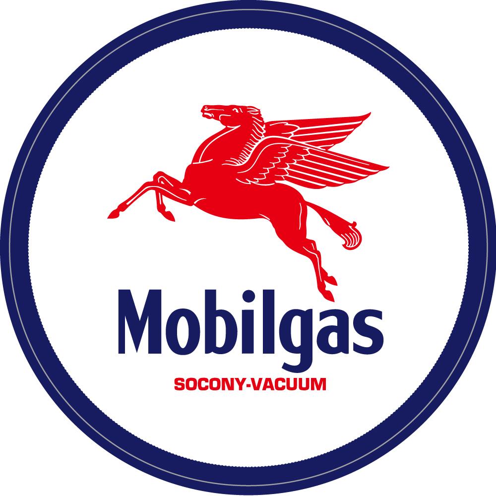 """106 Mobilgas モービル ペガサス """"California Market Center"""" アメリカンステッカー スーツケース シール"""