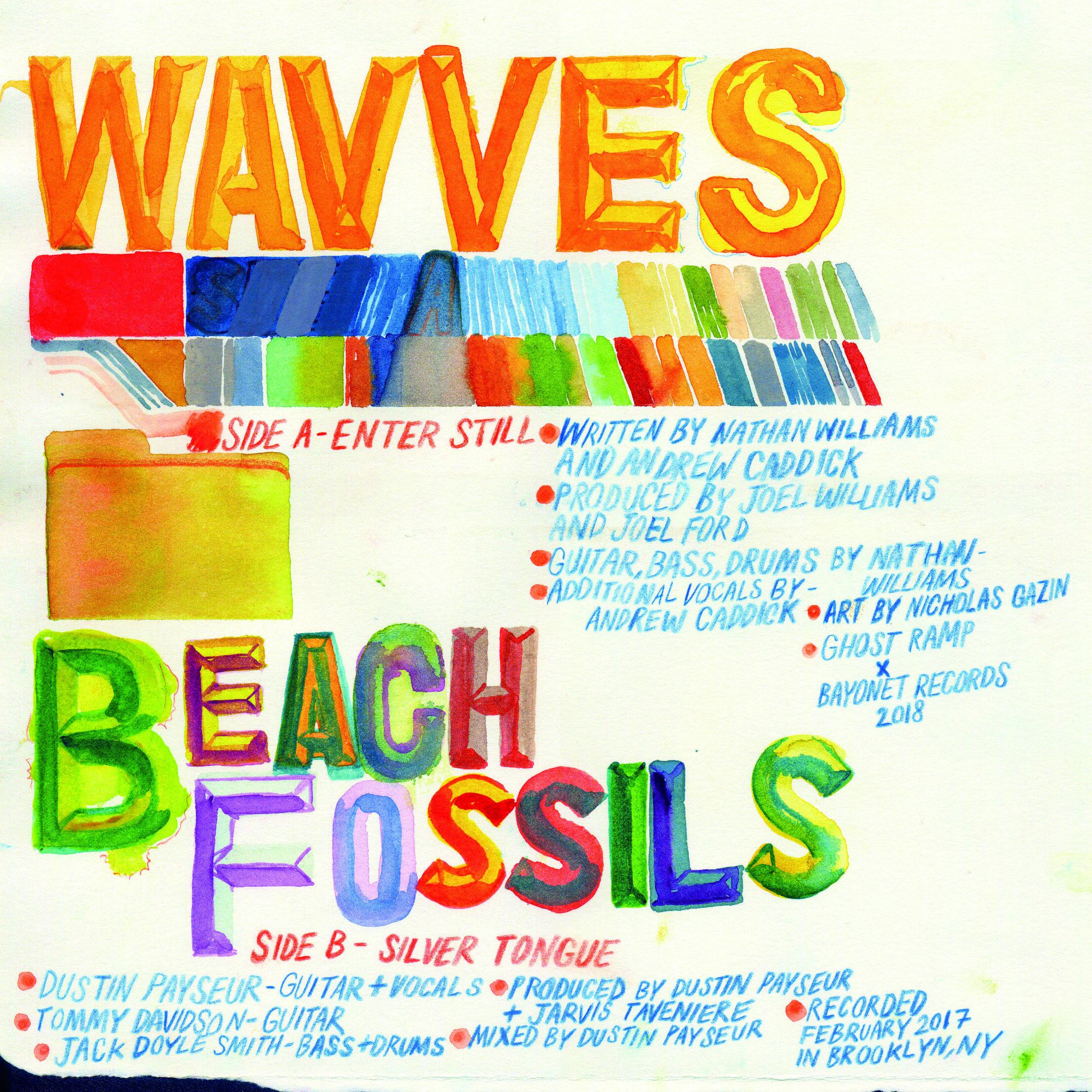Wavves X Beach Fossils / Split(Ltd 7inch)