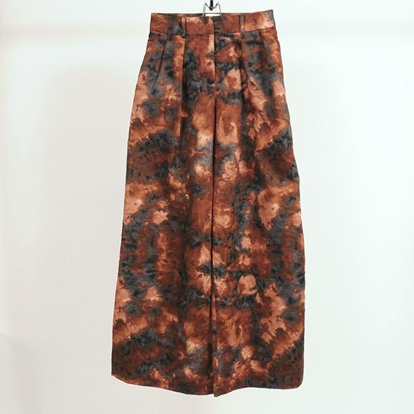 ◆ご予約商品 hs20SS-IR14 WIDE PANTS -BR (Msize)