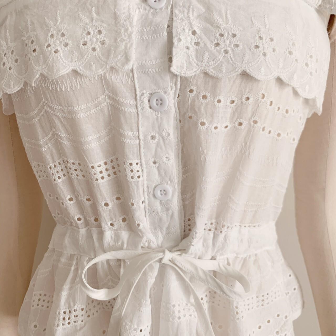【meltie】cotton lace bustier