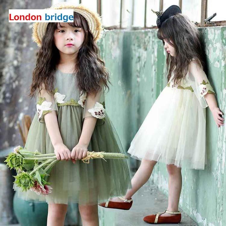 b632c5658514b  韓国子供服 ナチュラルワンピース 110 120 130 キッズドレス チュール 可愛い 子供ワンピース