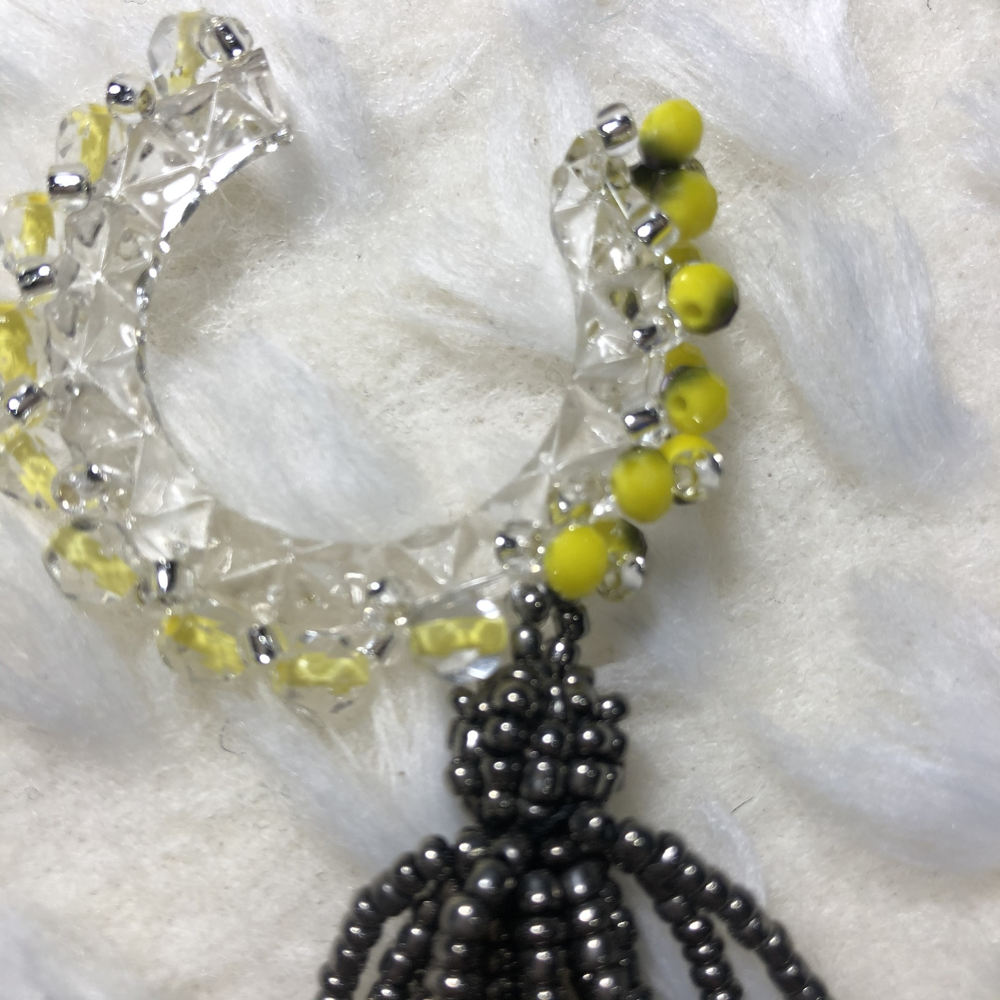 Ma to i ピアス/イヤリング yellow/silver