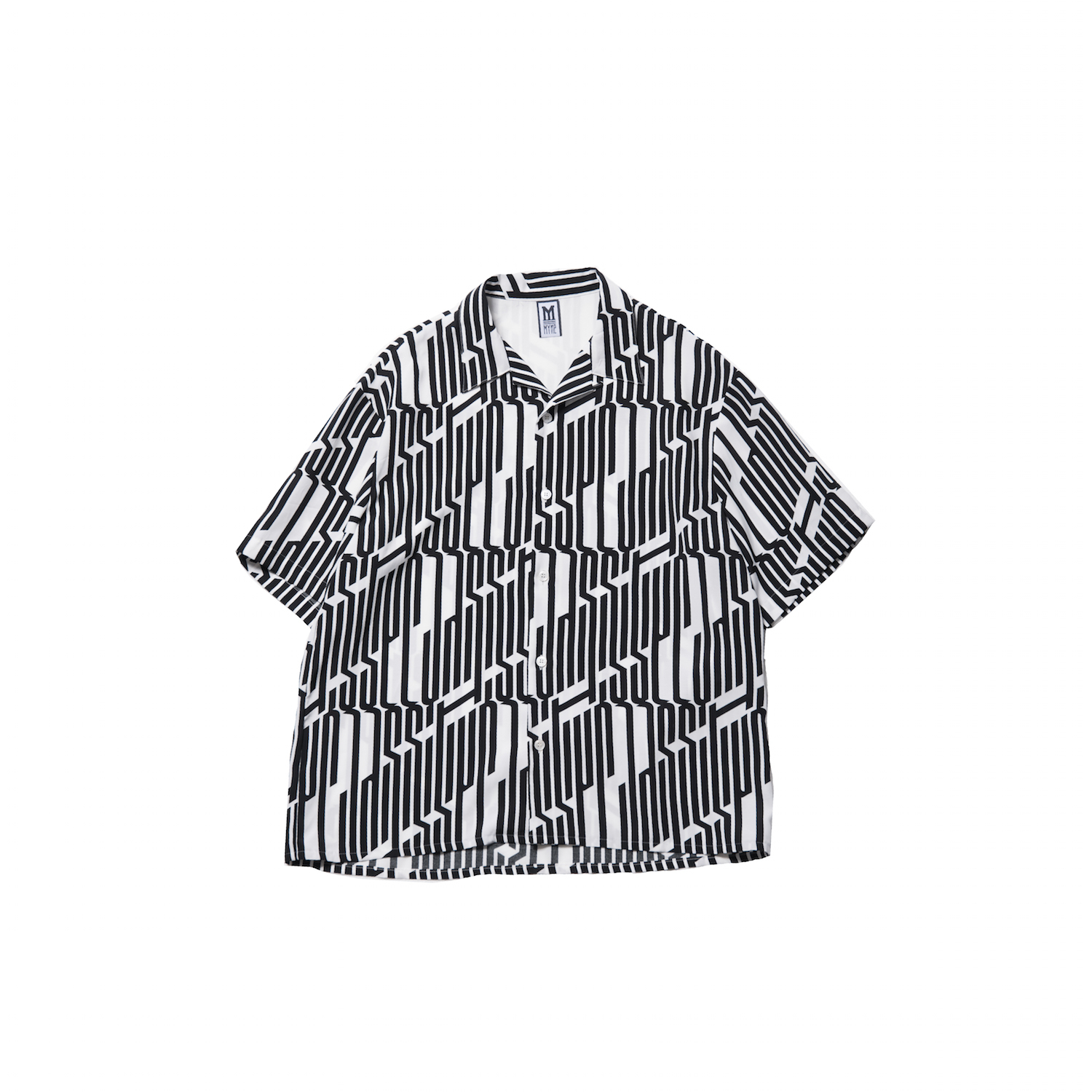 JAZZ IT UP HALF SHIRT / WHITE - 画像1