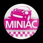 ドームバッジ(CD0411 MINIAC PINK) - 画像1