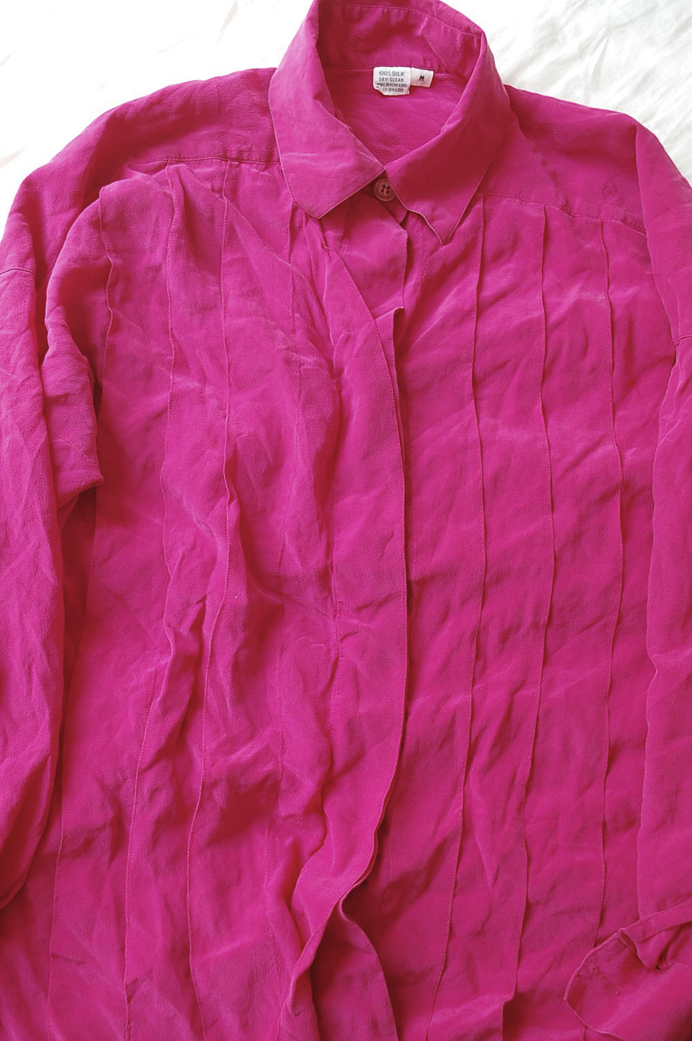 Silk pink blouse