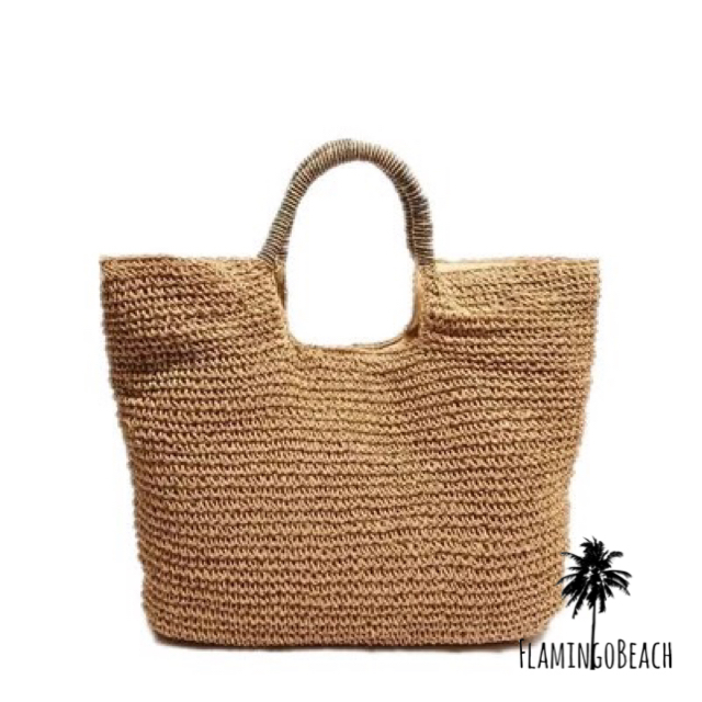 【FlamingoBeach】summer bag カゴバック