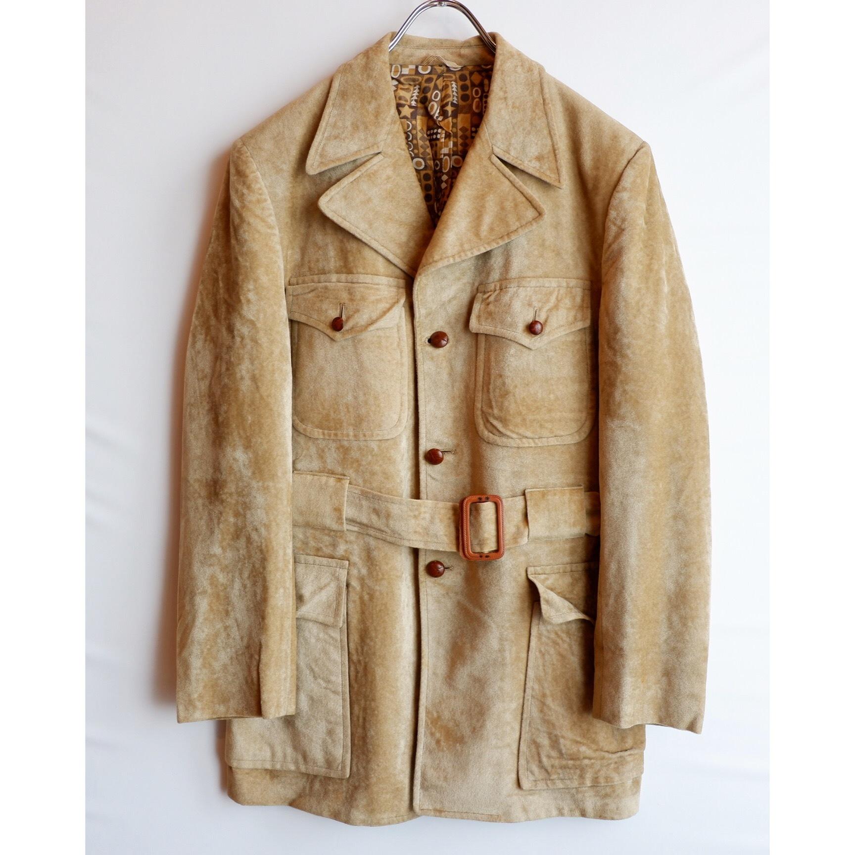 アメリカ古着 1970s vintage ベロア ジャケット