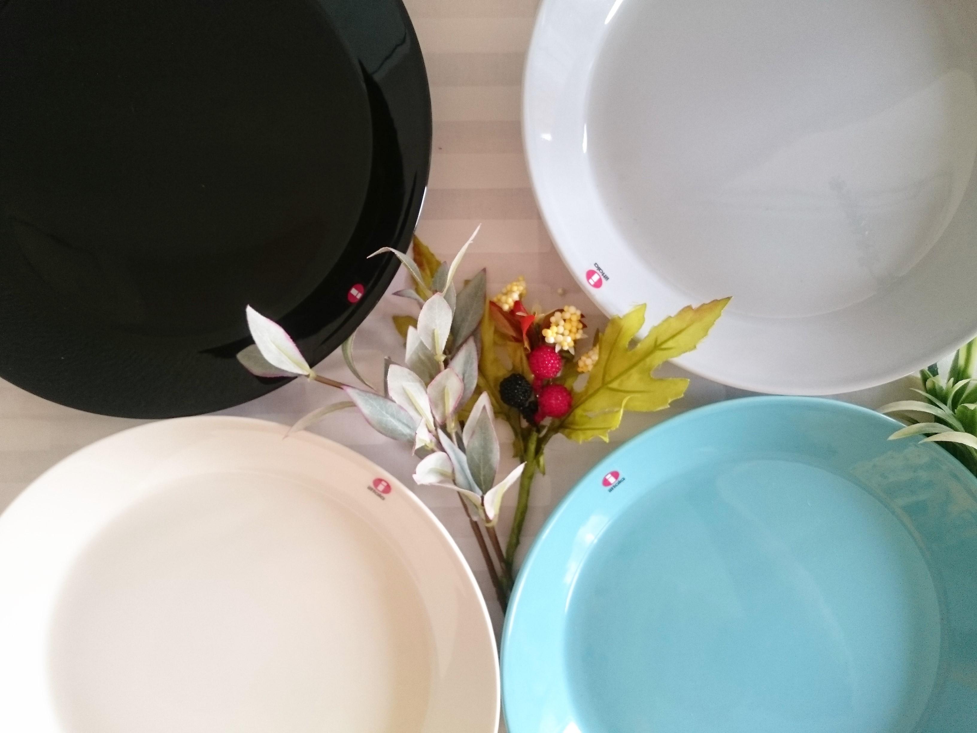 プレート / イッタラ / TEEMA ティーマ / パールグレー (21cm)