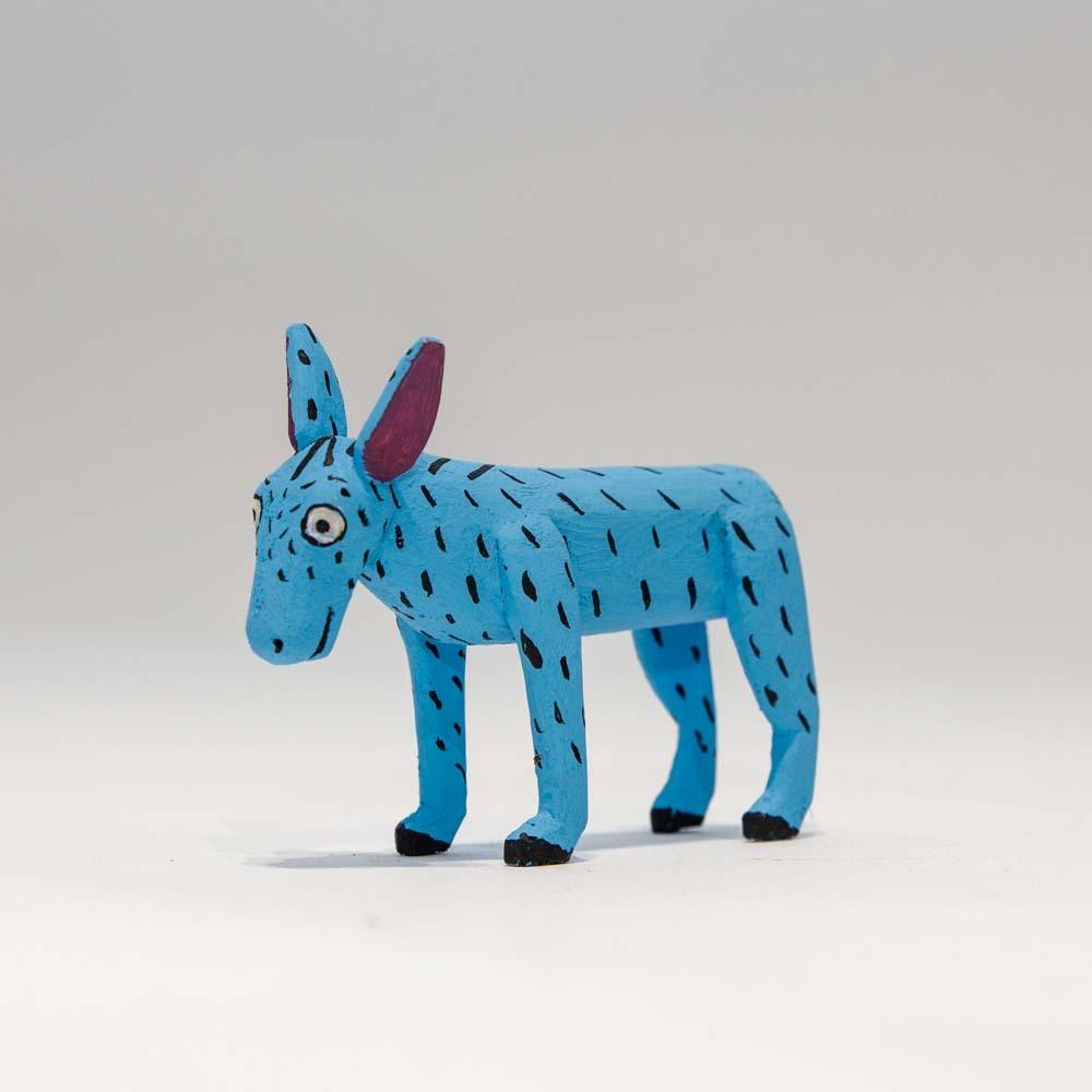 Alebrijes Donkey - Light Blue