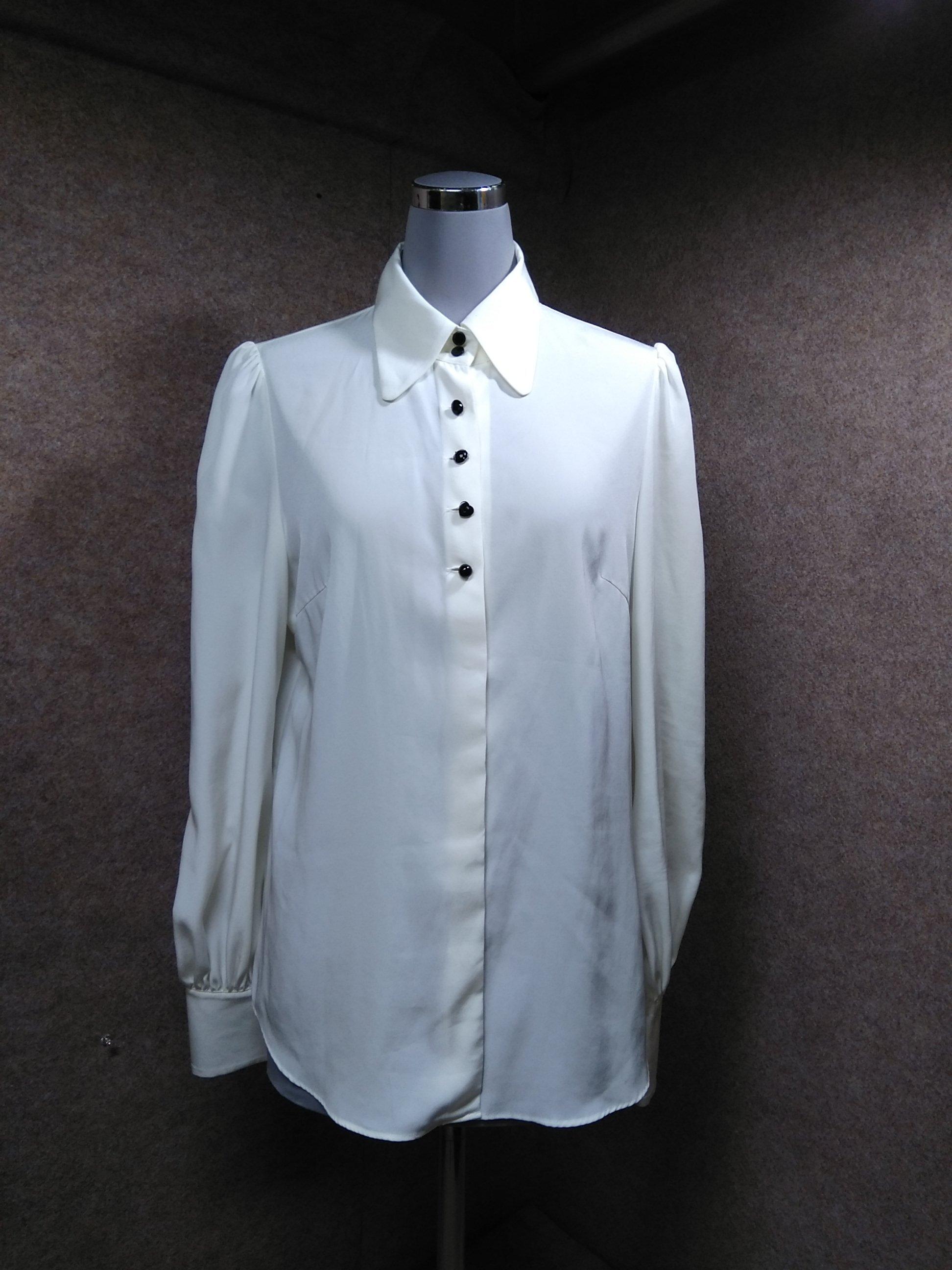 iCB アイシービー ブラウス ドレスシャツ 白 11 mh902e