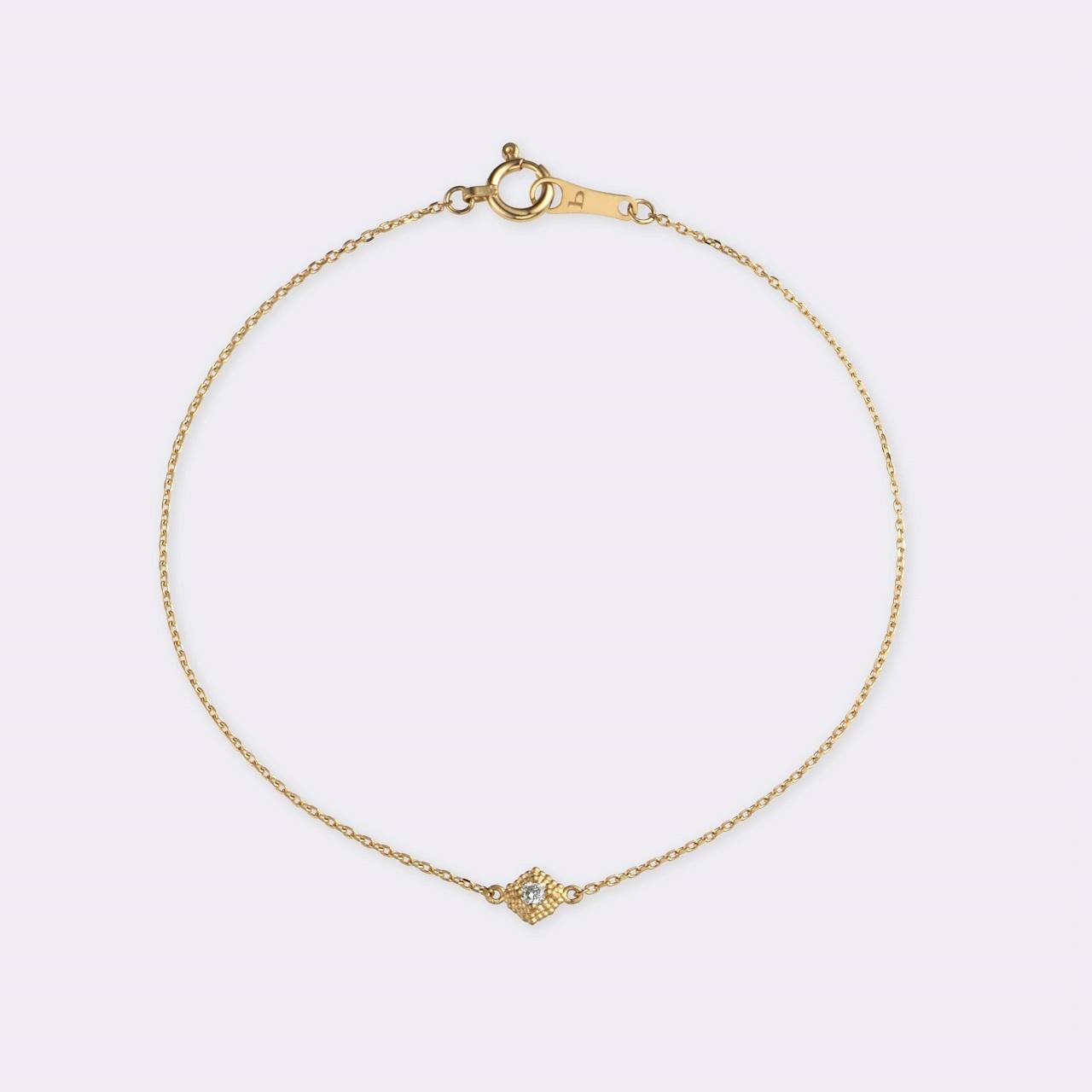 Spuma Bracelet K18YG (スプーマブレスレット K18イエローゴールド)