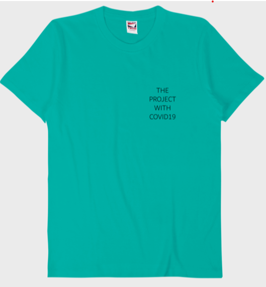 NO.6 T-shirts 「THE PROJECT WITH COVID19」