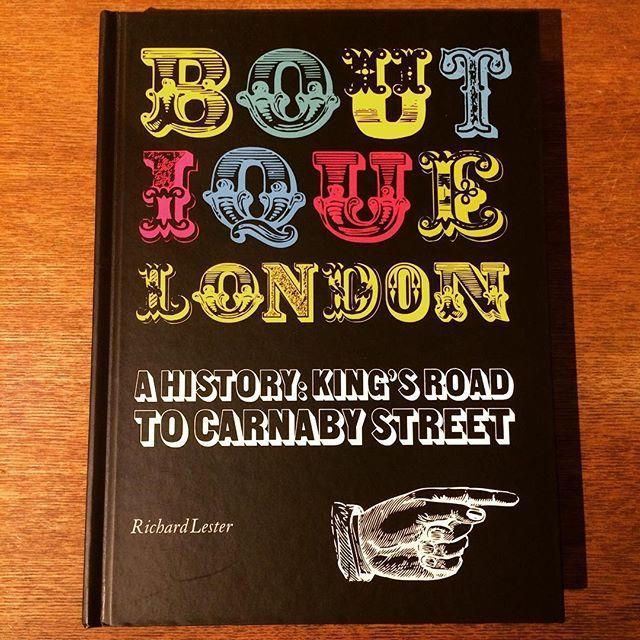 ファッションの本「Boutique London」 - 画像1