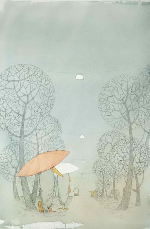 ポスター50x70「ムンクスネス」 by レナ・フロランダー・ウルフ