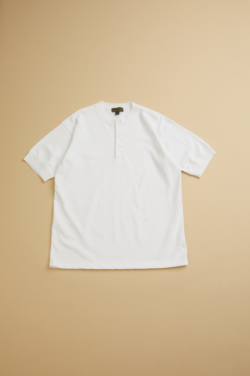 ワークヘンリーネック / 40'S WORK HENLEY NECK SHORT SLEEVE