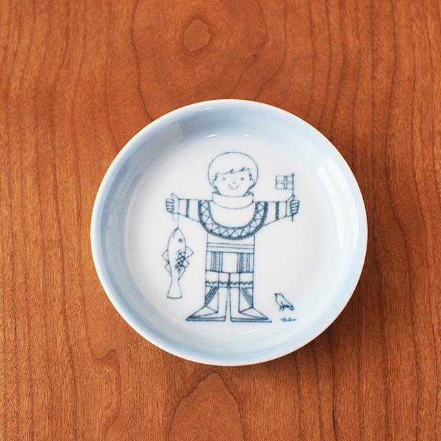【デンマーク】 B&G社 ミニ飾り皿 Antoniデザイン ビングオーグレンダール