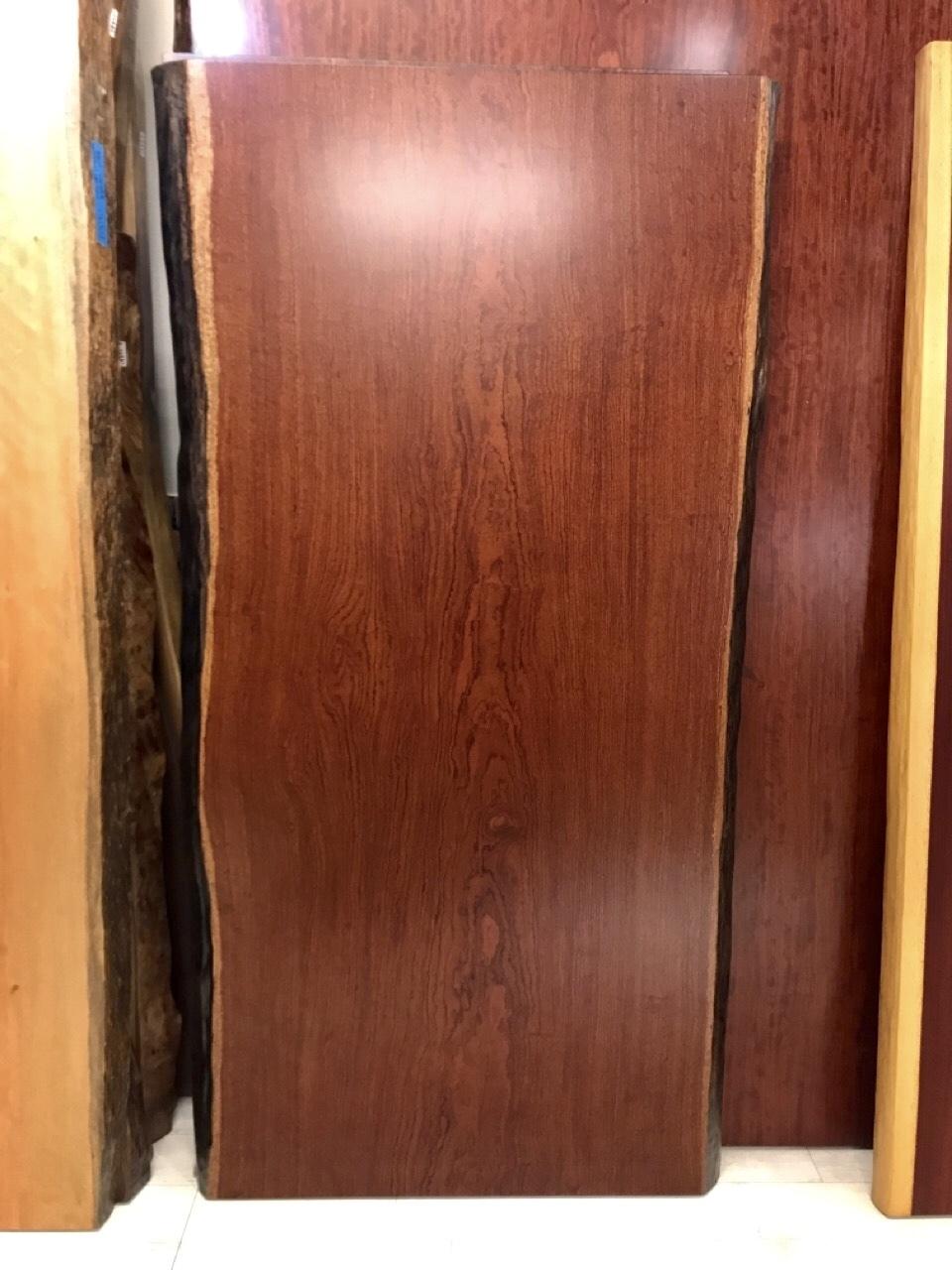 ≪浅草店≫ブビンガ 玉杢 一枚板 1680×780-815×50 20703-1
