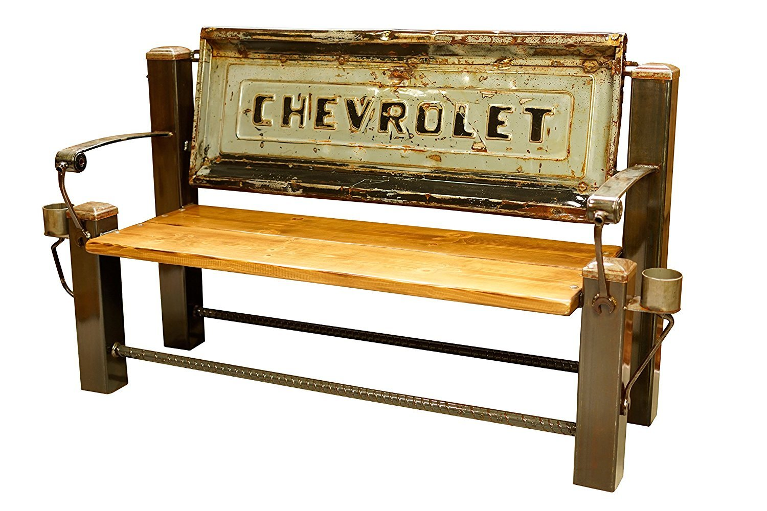 CHEVROLET STEP SIDE BED TAILGATE BENCH 【GRAY】