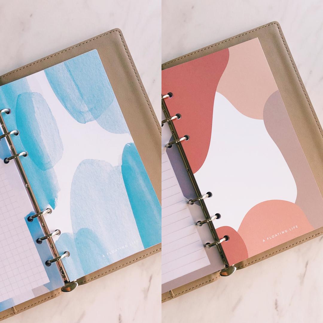 【手帳インデックス】バイブル2色セット