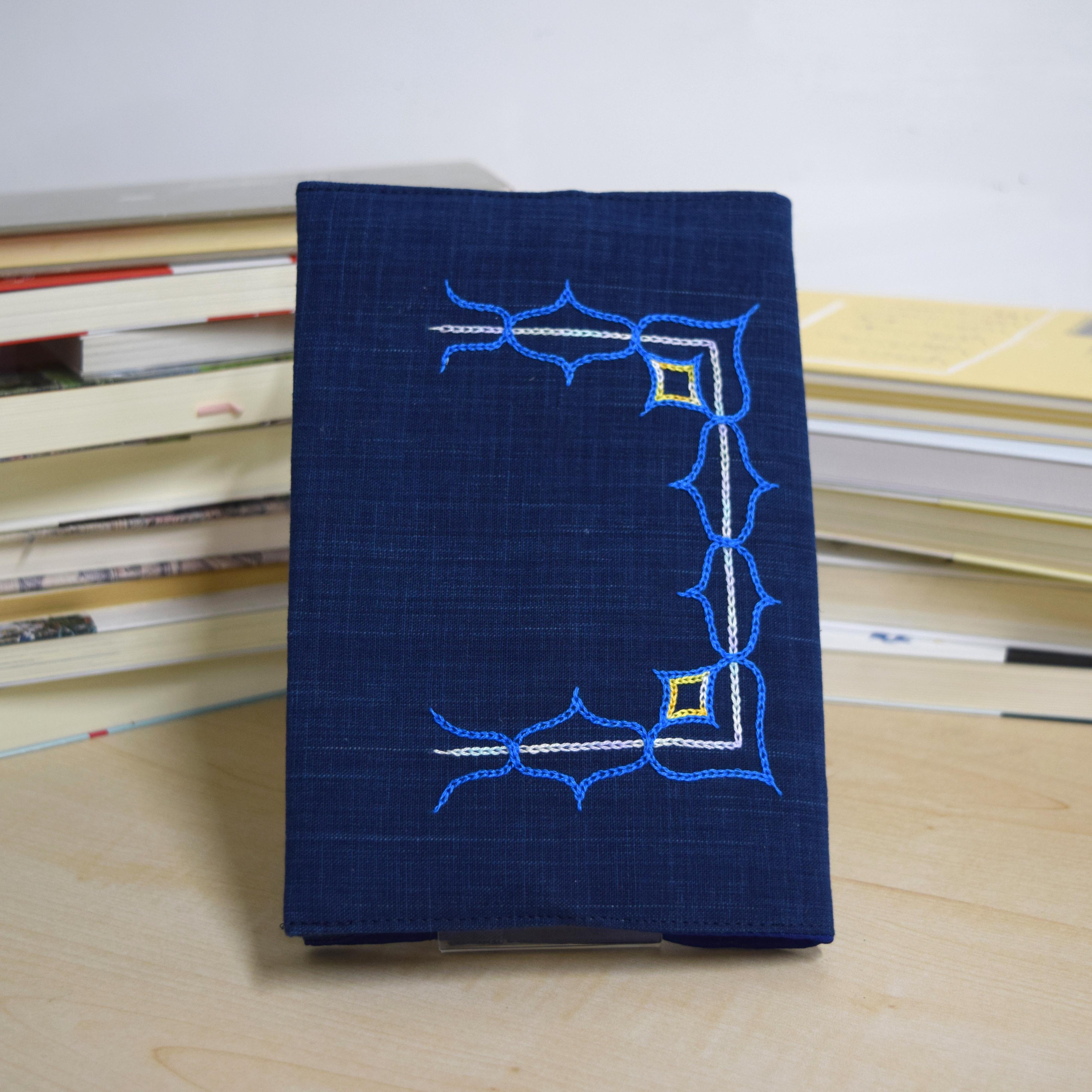 ブックカバー(新書サイズ)  book cover(173mm×110mm) 【さっぽろアイヌクラフト】
