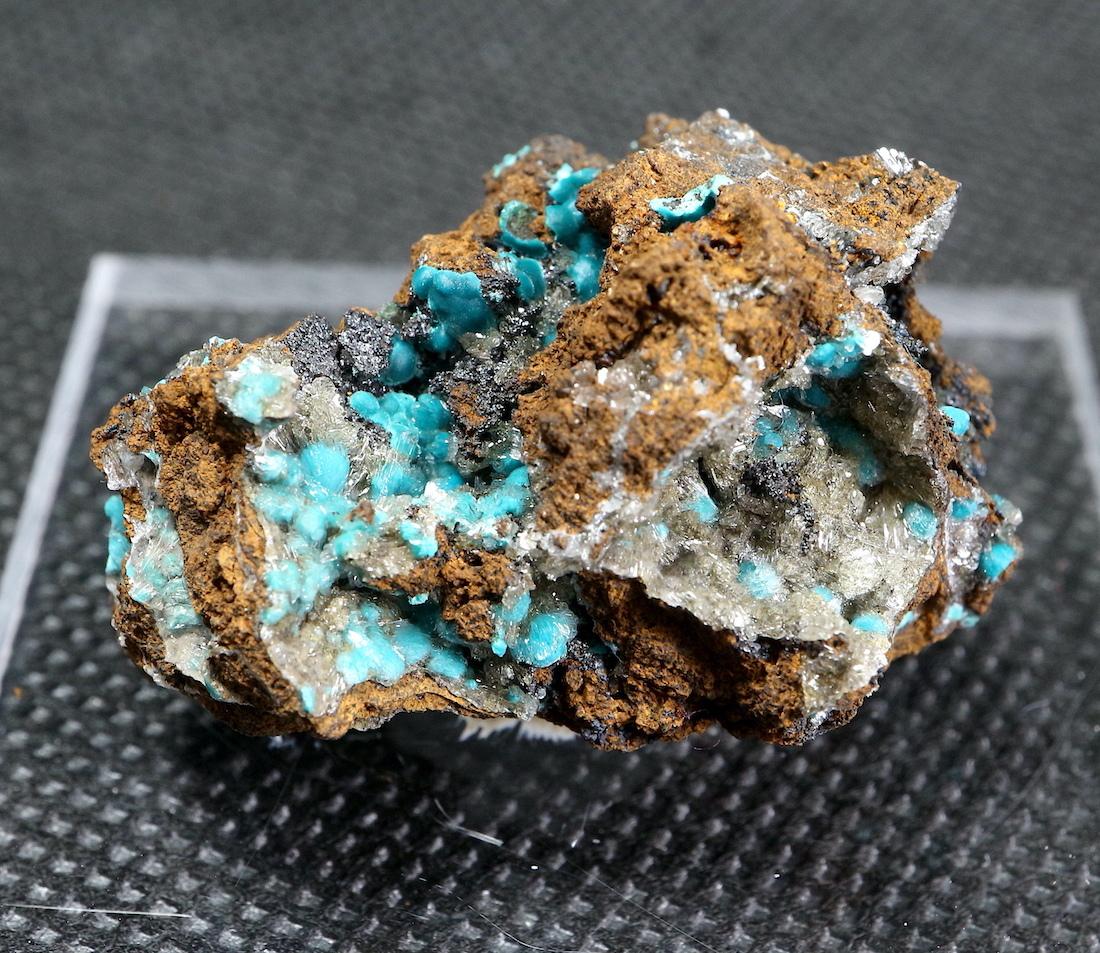 クリソコラ + ヘミモルファイト 珪孔雀石 11,5g CHS028  鉱物 天然石 原石 パワーストーン
