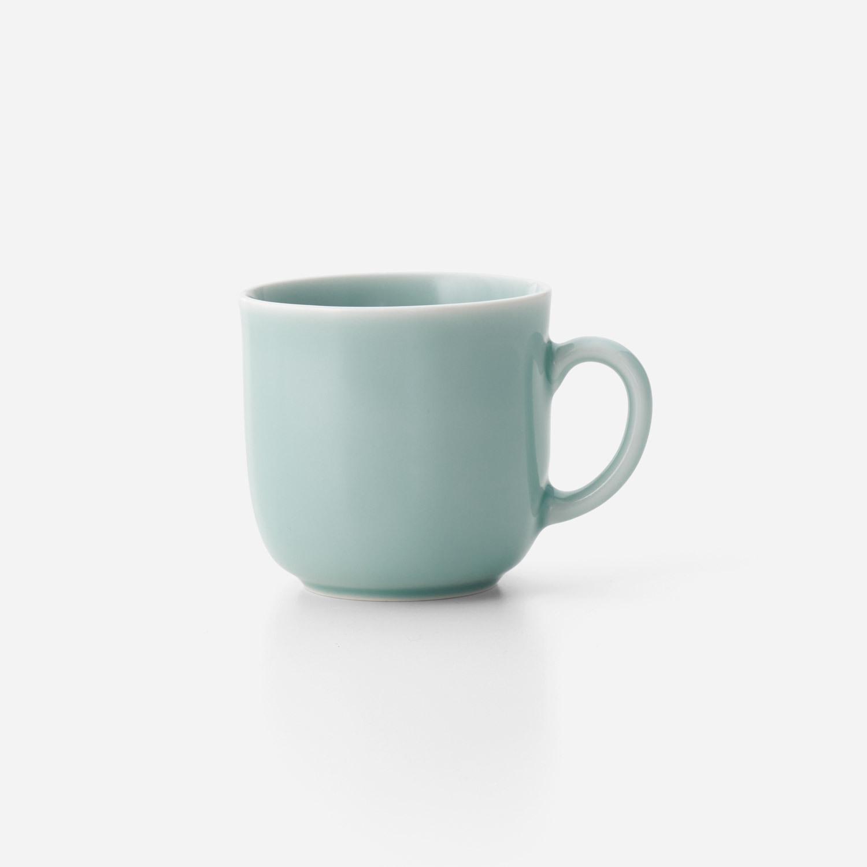 青白磁マグカップ C