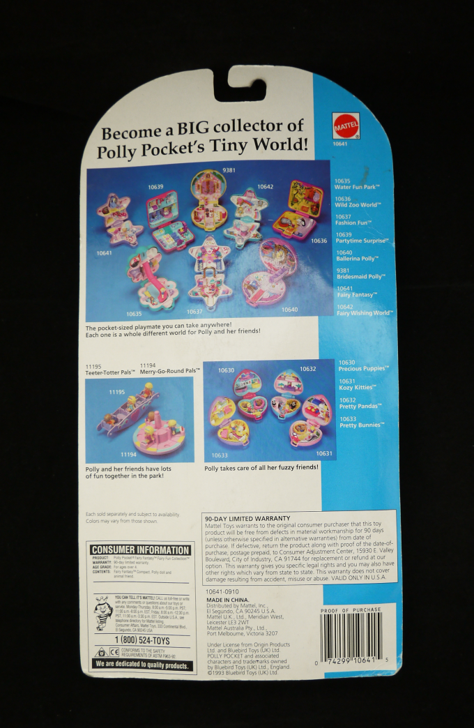 ポーリーポケット ふしぎの森へピクニック 1992年 新品 人気の妖精シリーズ 英語版